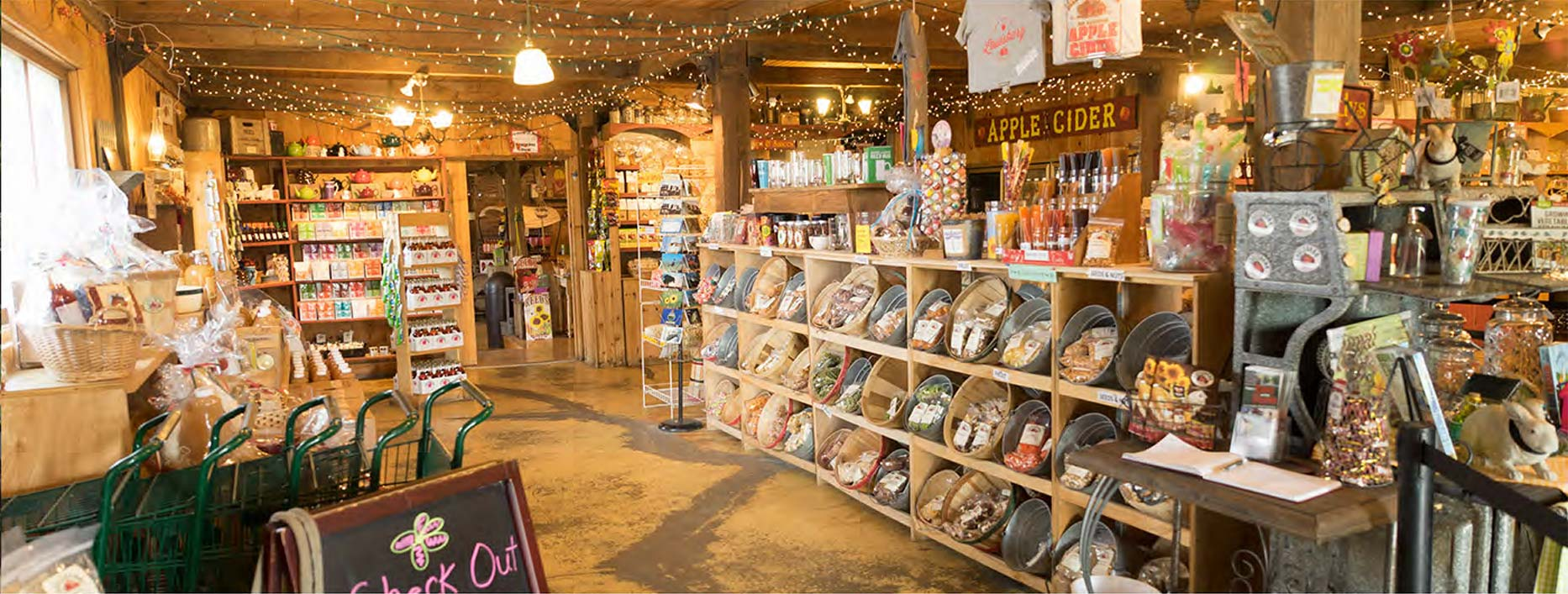 Inside Louisburg Country Store