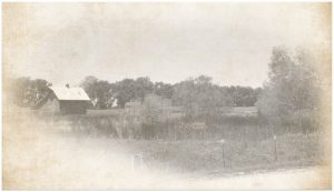 Vintage photo of land home to Louisburg Cider Mill & Lost Trail Soda