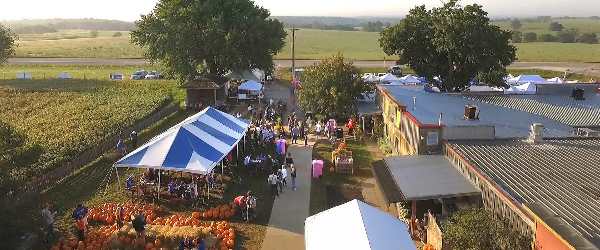 Morning of Ciderfest at Louisburg Cider Mill