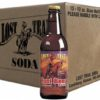 Case of 12 Lost Trail Root Beer soda