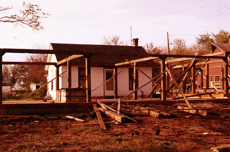 Initial construction site of Country Store