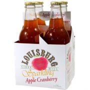 Louisburg Cider Mill 12oz Sparkling Apple Cranberry 4-pack