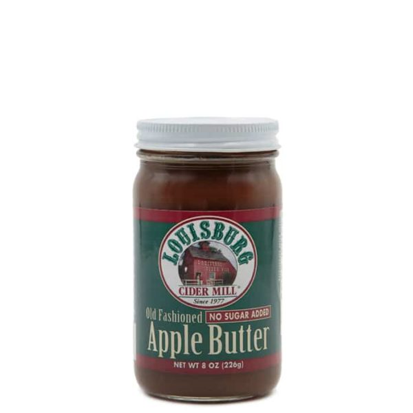 Louisburg Cider Mill Apple Butter with no sugar added