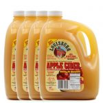 Louisburg Cider Mill Apple Cider gallon sized, 4 unit case