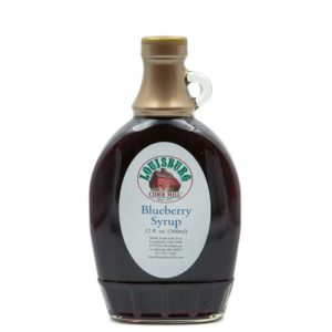 Louisburg Cider Mill Blueberry syrup