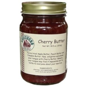 Louisburg Cider Mill Cherry Butter