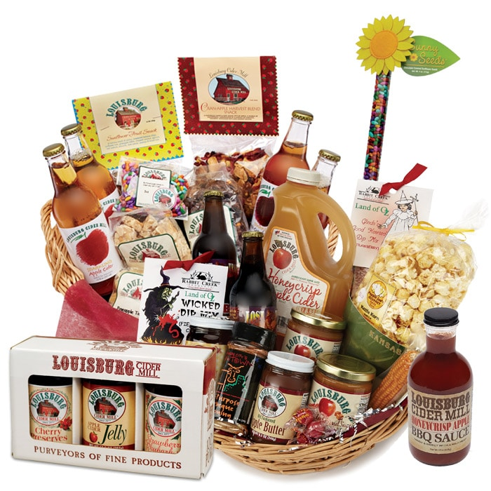 Louisburg Cider Mill Gift baskets
