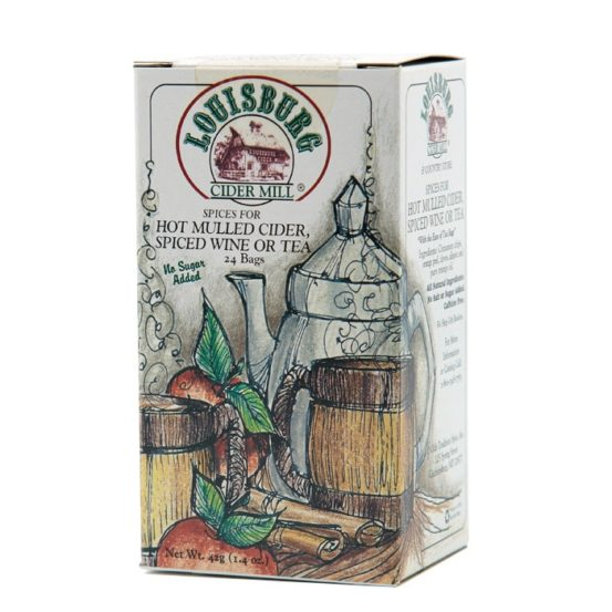 Louisburg Cider Mill Mulled cider spice bags - 24 count