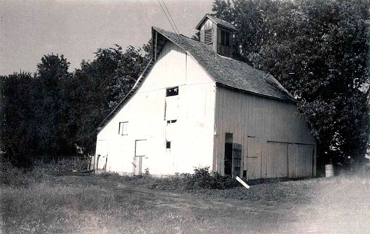 Original barn of Louisburg Cider Mill