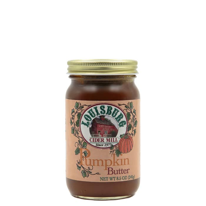 Louisburg Cider Mill Pumpkin butter, glass pint