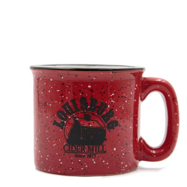 Louisburg Cider Mill Red ceramic mug
