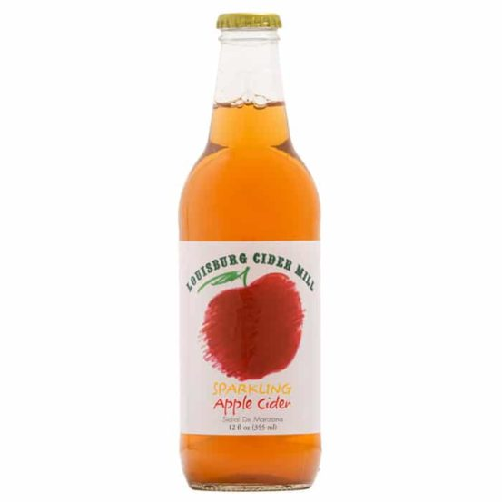 Louisburg Cider Mill sparkling apple cider
