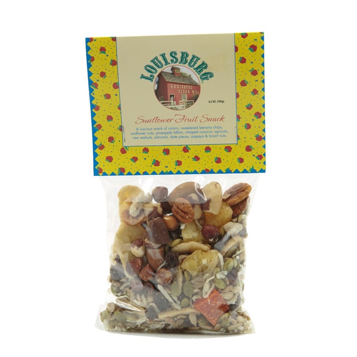 Louisburg Cider Mill Sunflower fruit snack