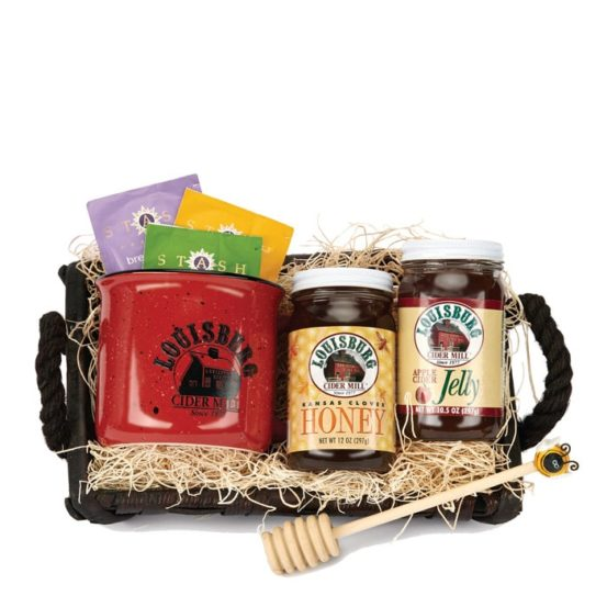 LCM Tea & honey gift basket