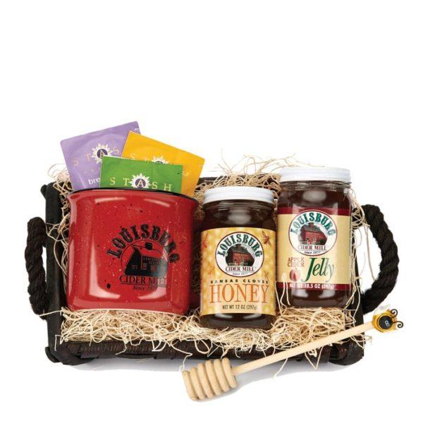 LCM Tea & honey gift basket