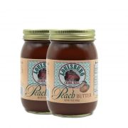 Two pints of Louisburg Cider Mill Peach Butter