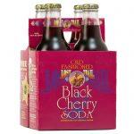 Lost Trail Black Cherry Soda, 4-pack