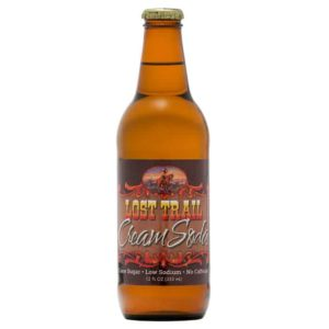 Lost Trail Cream Soda, 12oz glass bottle