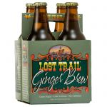 Lost Trail Soda, Ginger Brew, 4-pack