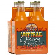 Lost Trail Orange Cream Soda, 4-pack