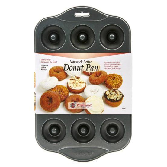 12-count metal donut pan