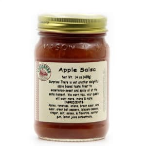 Louisburg Cider Mill Apple Salsa jar
