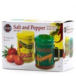 Nostalgic Salt & Pepper package from Louisburg Cider Mill
