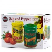 Nostalgic Salt & Pepper package from Louisburg Cider Mill