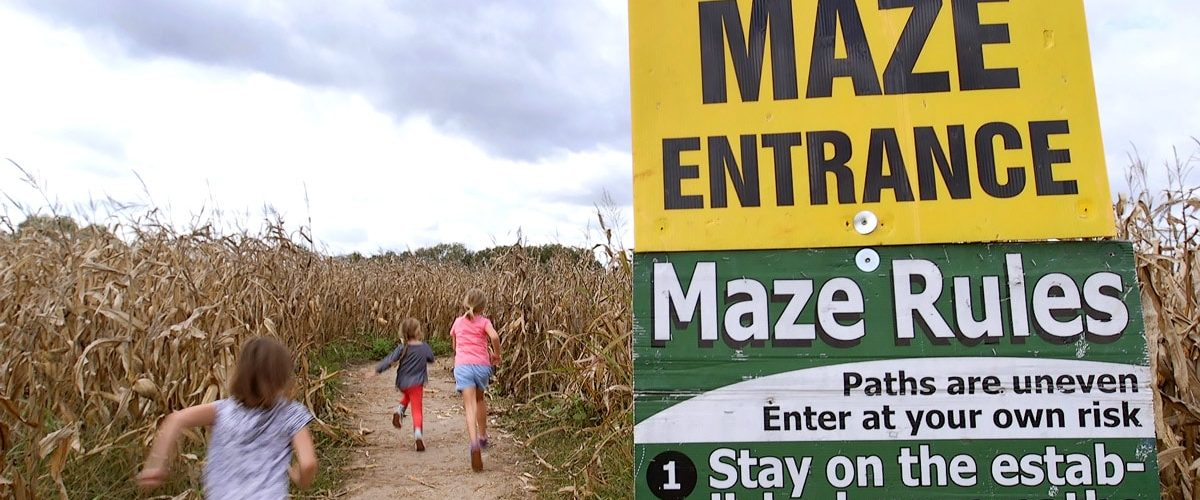 Corn Maze & Pumpkin Patch - Louisburg Cider Mill