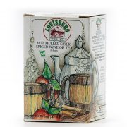 Louisburg Cider Mill Hot Mulled Cider, Spiced Wine or Tea Bags - 8 Count
