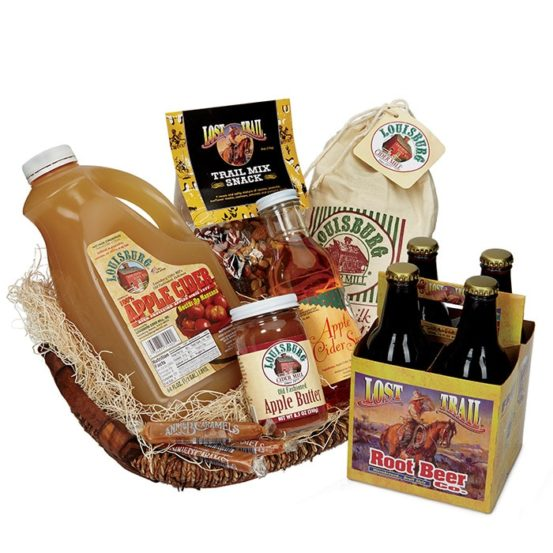 Louisburg Cider Mill Apple Valley Gift Basket