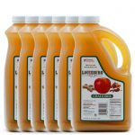 Louisburg Cider Mill Chai Apple Cider in half gallon jug, 6 unit case