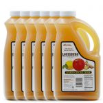 Louisburg Cider Mill Lemon Ginger Cider in a half gallon jug, 6 unit case