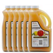 Louisburg Cider Mill Lemon Ginger Cider in a half gallon jug, 6 unit case
