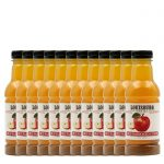Louisburg Cider Mill, 12-pack case of single serve bottles of Old Fashioned Apple Cider