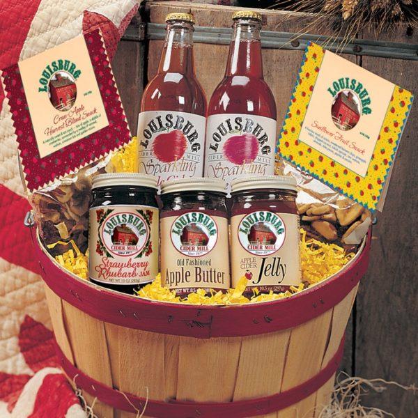 Louisburg Cider Mill Sunflower State Gift Basket