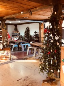 Louisburg Country Store at Christmas
