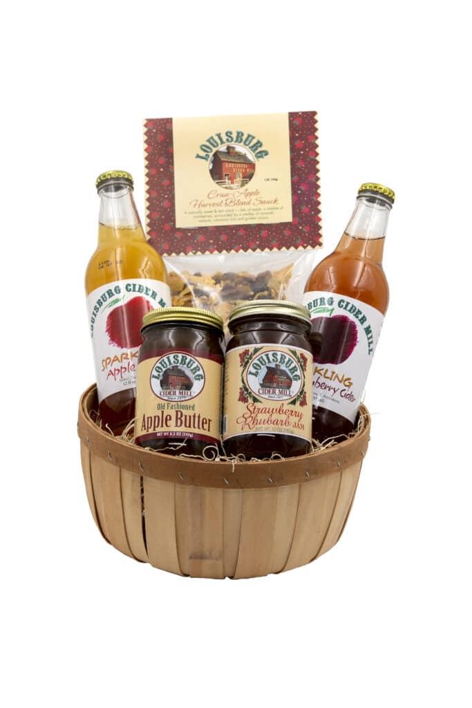 Cider Barrel Basket
